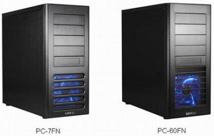 Два новых корпуса PC-7FN и PC-60FN от компании Lian Li