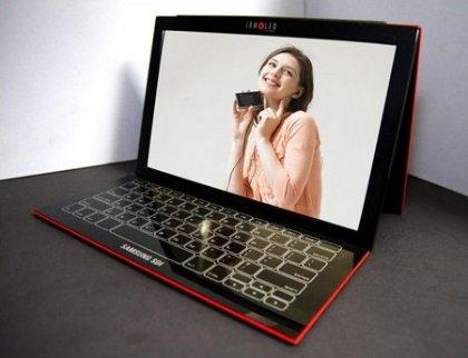 Ноутбук Samsung с OLED-дисплеем