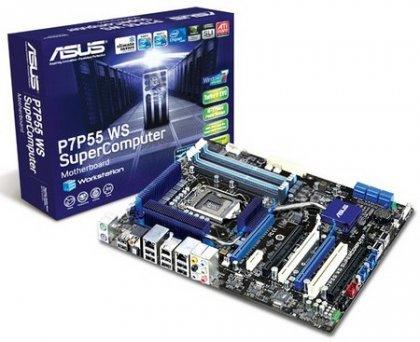 ASUS P7P55 WS SuperComputer - плата для экстремалов