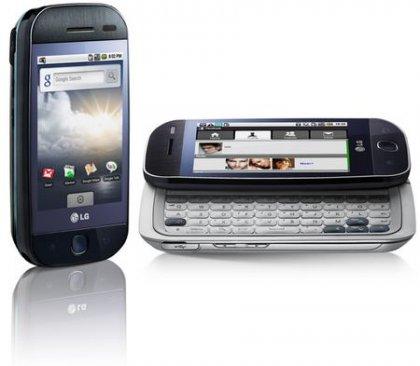 LG GW620 - коммуникатор LG на основе Android