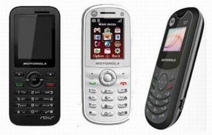 Новая ленейка телефонов от Motorola