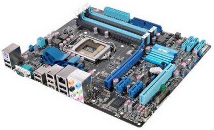 ASUS P7P55-M – материнская плата на чипсете Intel P55
