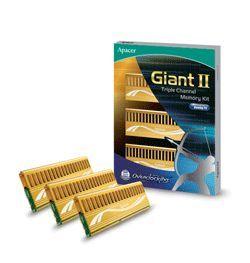 Память DDR3 Giant II от Apacer для геймерских ПК