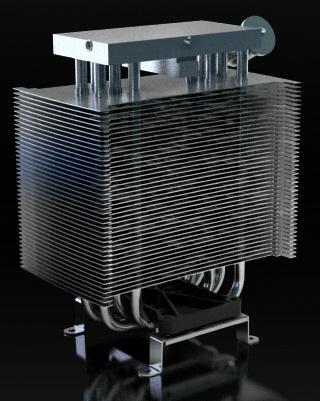 Кулер LMX с жидким металлом