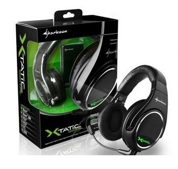 Наушники Sharkoon X-Tatic Digital Dolby-certified 5.1 для XboX 360