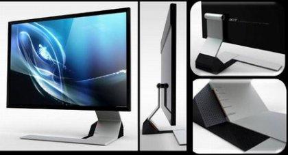 Ультратонкий монитор Acer S243HL