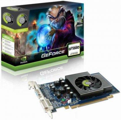 Бюджетные видеокарты NVIDIA GeForce G210 и GT220