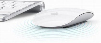 Необычная мышь Apple Magic Mouse - без кнопок