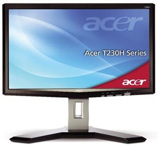 Монитор Acer T230H - с функцией multi-touch