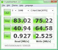 CrystalDiskMark 2.2.0
