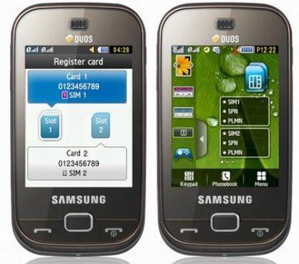 Два новых телефона от Samsung DUOS – B5722 и C6112