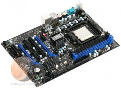 Системная плата MSI 770-G45 на базе AMD 770