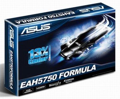 Видеокарта ASUS Radeon HD 5750 Formula