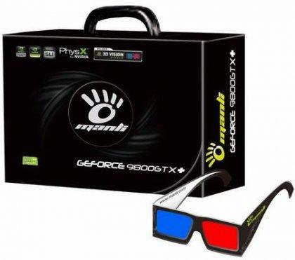 3D-очки в комплекте с видеокартами на базе GeForce