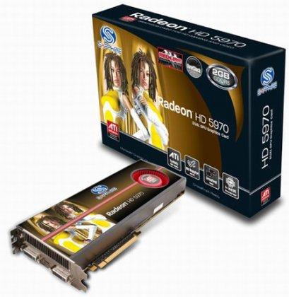 Radeon HD 5970 - под заводским разгоном