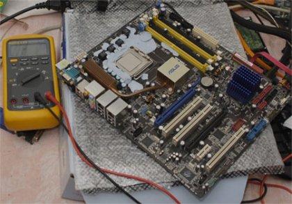 Разгон процесссора Celeron D 356 до 8182,7 МГц