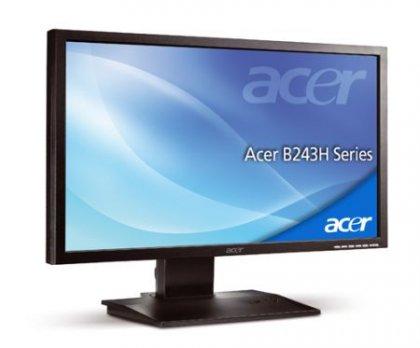 Acer B243H и B233HU - стильные мониторы