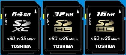 Карты памяти формат SDXC в поступят в следующем году
