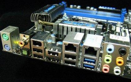 Материнка P55-GD85 - наличие мостового чипа PLX
