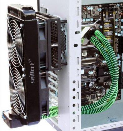 Система охлаждения MCR Drive в виде радиатора