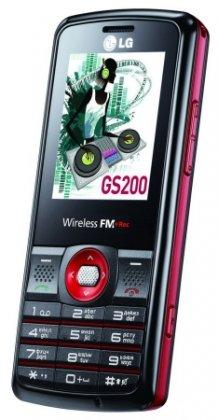 LG GS200 - телефон для меломанов