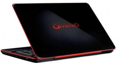 Мощный ноутбук Toshiba Qosmio X500 для игр