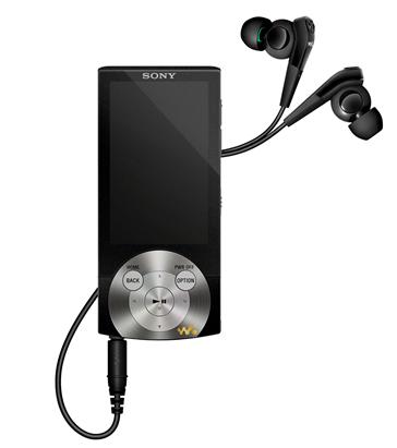 Тонкий медиаплеер Sony Walkman A845