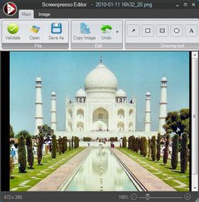Программа Screenpresso - для захвата изображения с экрана