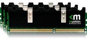 Память DDR3 от Mushkin под платформы LGA 1156 и LGA 1366