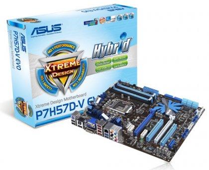 ASUS P7H57D и P7H55 - системные платы под процессоры Clarkdale
