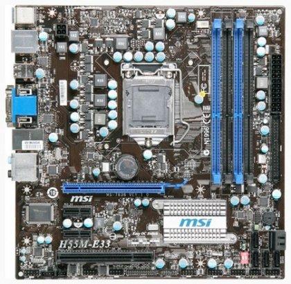 MSI анонсировала системные платы под сокет LGA 1156