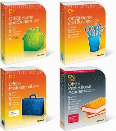 Информация о цене Microsoft Office 2010