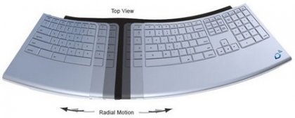 Клавиатура ErgoMotion - для тех кто много печатает