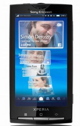 Sony Ericsson X10 - в России будет в апреле