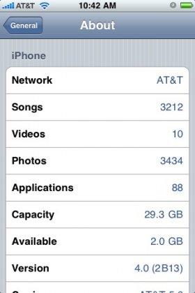 Что нового будет в iPhone OS 4.0