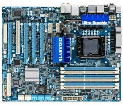 Системная плата X58A-UD3R -  на основе Intel X58