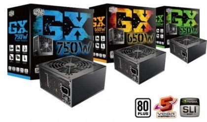 Блок питания GX 550, 650 и 750