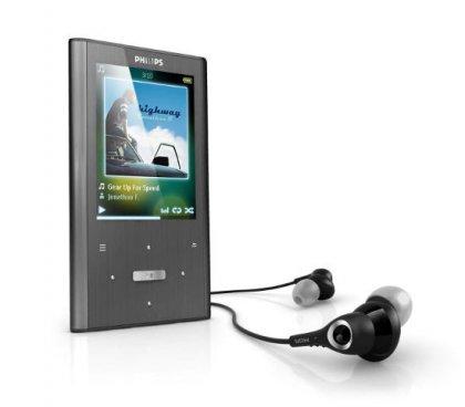 MP3 плееры Philips GoGear Ariaz для музыки и видео