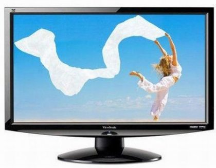 Монитор Viewsonic V3D241wm-LED с поддержкой 3D
