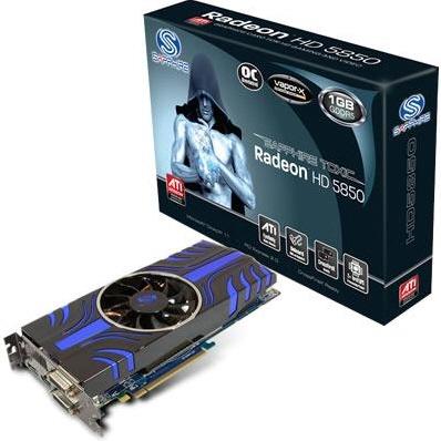 Radeon HD 5850 с системой охлаждения Vapor Chamber