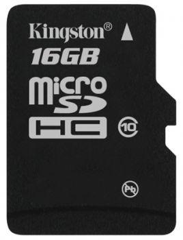 Kingston microSDHS Class 10 - скоростные карты памяти