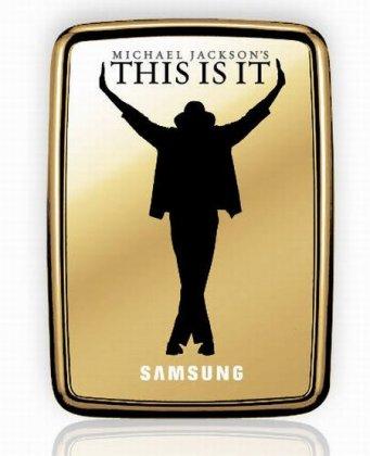 Винчестеры Samsung S2 для фанатов Майкла Джексона