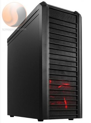 Корпус Lancool K62 - в стиле Red Dragon