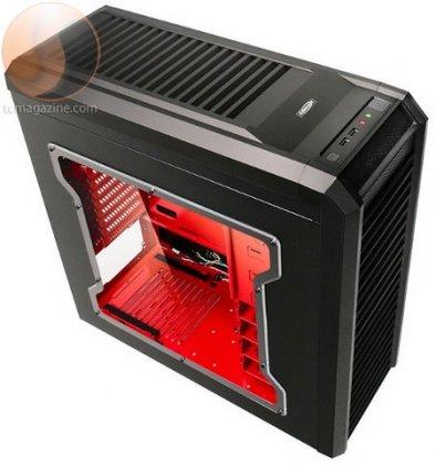 Корпус Lancool K62 - в стиле Red Dragon