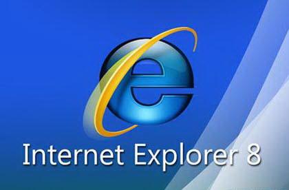 Internet Explorer - говорит о своей статистике