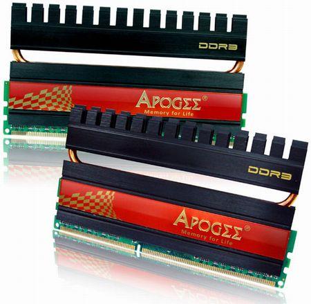 Apogee GT DDR3-2400 память для оверклокеров