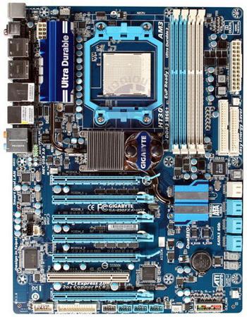 Плата Gigabyte GA-890FXA-UD7 на чипсете AMD 890FX