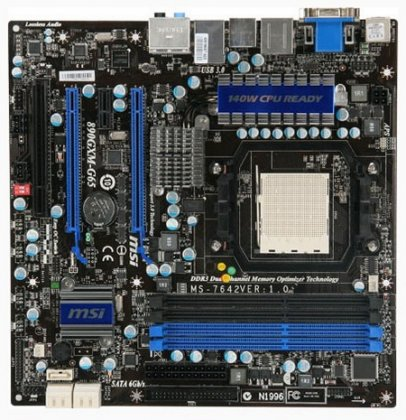 Системная плата MSI 890GXM-G65 для HTPC