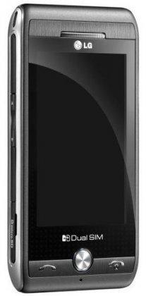 Тачфон LG GX500 - с поддержкой Dual SIM
