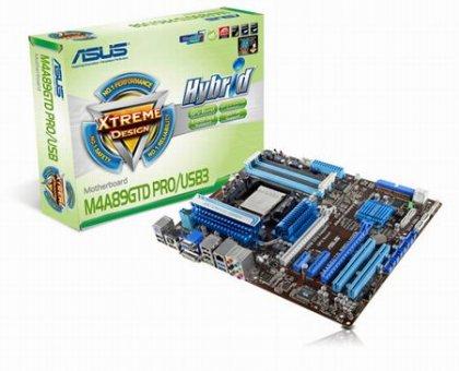 Материнские платы ASUS M4A89GTD PRO/USB3 и M4A89GTD PRO - на базе AMD 890GX